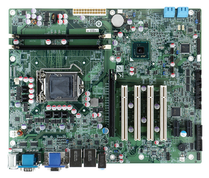 ATX power supply, ATX/AT mode support 2016 100% LGA 1150 H81 original industrial motherboard