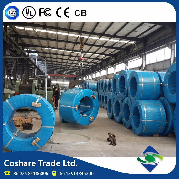 COSHARE- Wholesale price Various series 7 wires epoxy coated steel strand for pres tress concrete