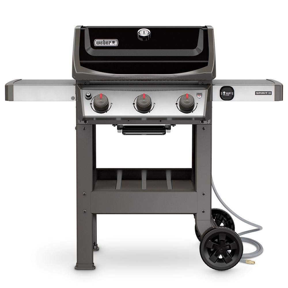 Get Quotations · Weber Spirit II Spirit II E-310 3-Burner Natural Gas Grill  in Black