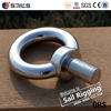 Polished Forged Stainless Steel Eye Bolt Jis1168