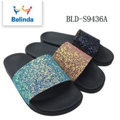 8164cbde4c2c56 Alibaba Bling Slide Shoes Ladies Designs Sleepers For Sale - Buy ...