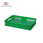 Non-pollution Supermarket Use High Quality Fruit Vegetable Plastic Basket for Sale