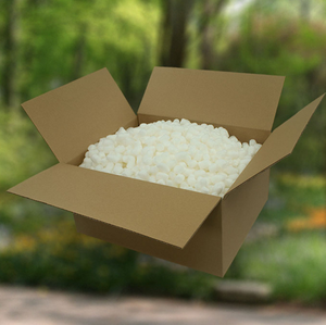 Eco-friendly corn starch packaging foam peanuts bulk