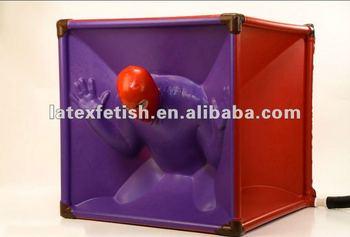 Latex rubber vacuum bed