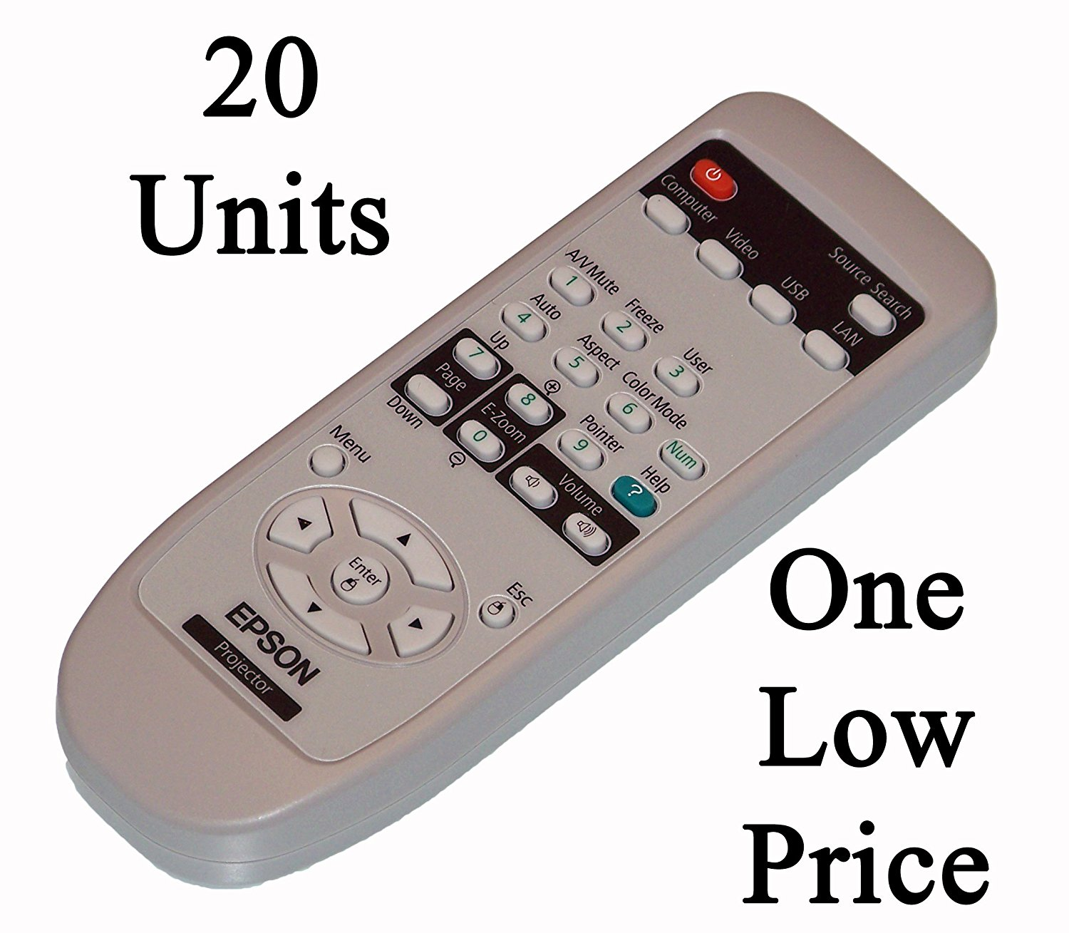 Buy New Epson Projector Remote Control Originally Shipped 20