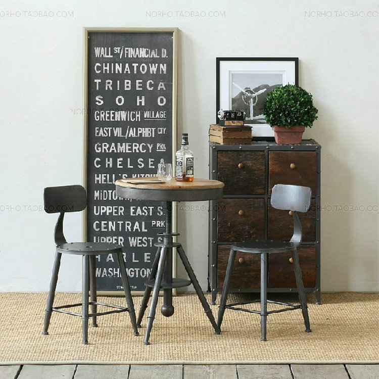 Casual Dining Tables And Chairs: American Village Living Room Coffee Table And Chairs