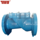 Rubber seated swing check valve for water