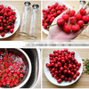 healthy canned cherry in syrup canned fruit