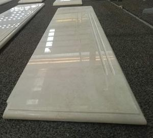 Project Customized Cream Marble Floors and Stairs