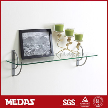 Living Room Design Brackets Glass Wall Shelf Support Buy