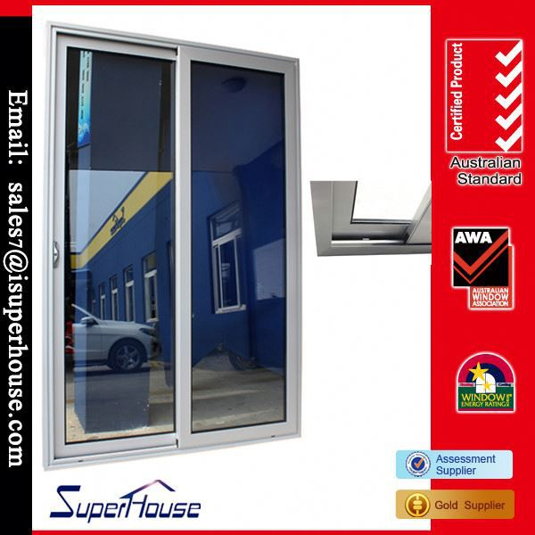 China factory thermal break tempered double glazed electric sliding door openers