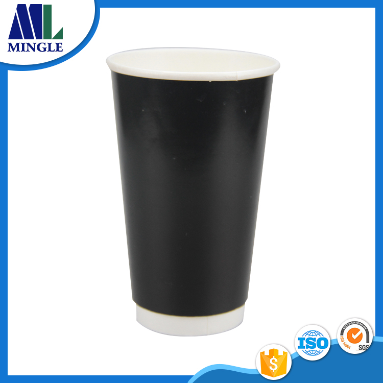 17.5oz 500ML Cheap Custom Printed Disposable costa Double Walls Paper Cup for Coffee Hot Chocolate Drinks