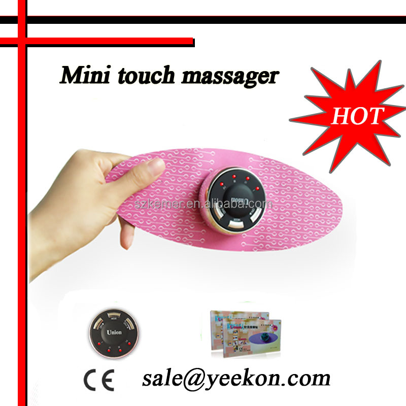 new revolutionary product 2016 Mini Tens units electric slimming manual mini touch Massager
