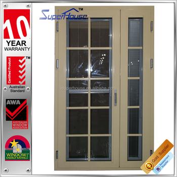 Energy Saving Australia Standard Aluminum Hinged Door Double Panel ...