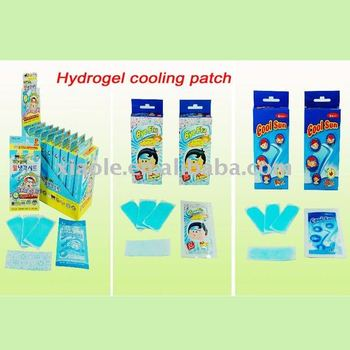 Fl-001 Pure Herbal Extract Fever Cooling Gel Patch For Baby&adult ...