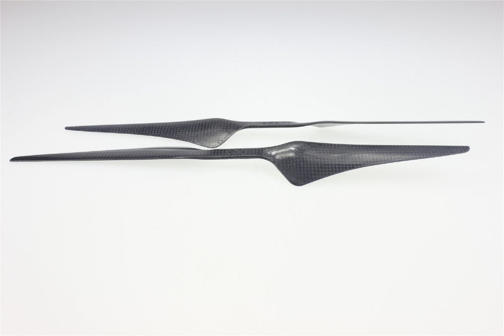 F05316 15x5.5 3K Carbon Fiber Propeller CW CCW 1555 CF Props Cons Blade For Hexacopter Octocopter Multi Rotor UFO + Freeship