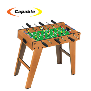 new design wholesale indoor toys football game machine with eco friendly material