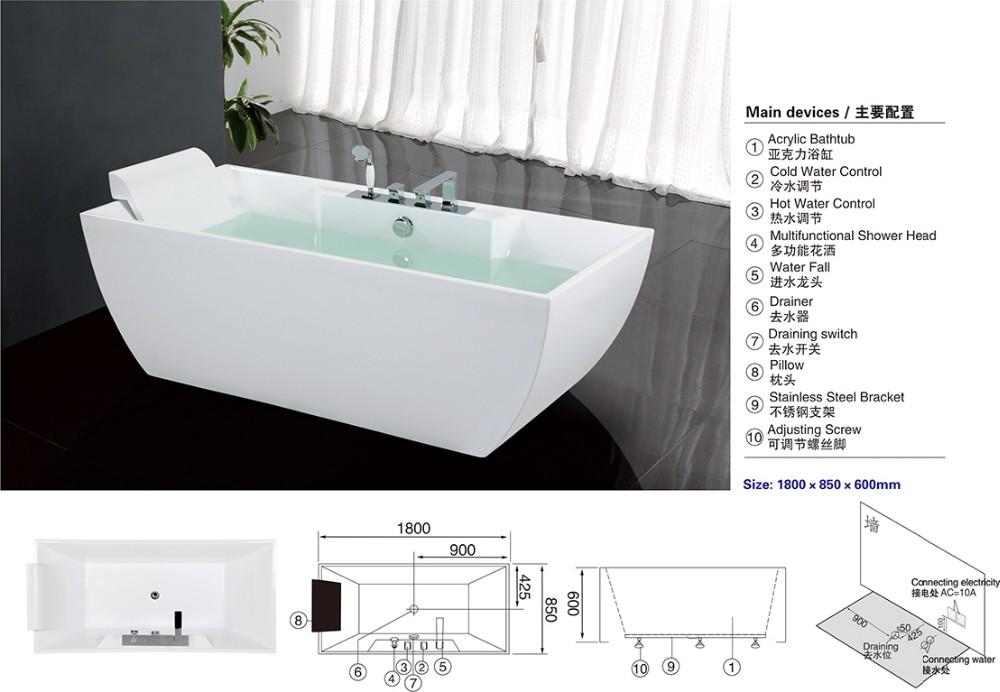 how to clean a fibreglass bathtub