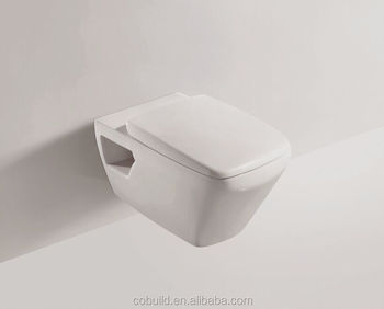 European Wall Mounted Hung Toilet