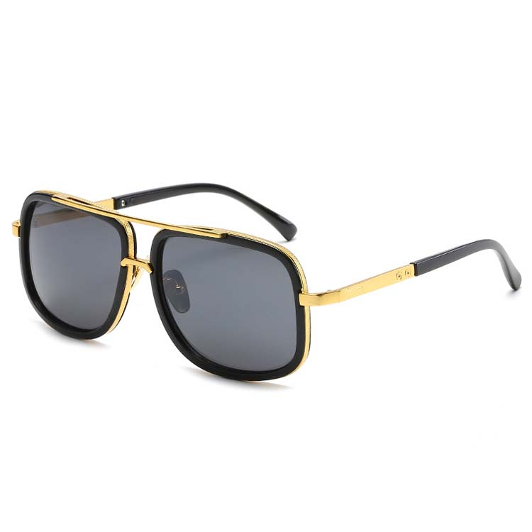 Wholesale Sunglasses China Gold Frame Metal Mens Driving Shades Outdoor Shutter Vintage Sunglasses фото