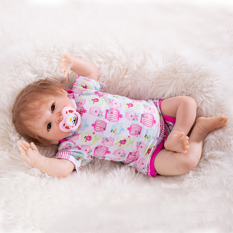 OtardDolls Reborn Doll 20 Reborn Baby Doll Lifelike Soft Vinyl Silicone Bebe Newborn Baby
