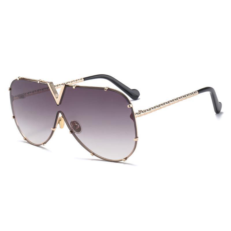 61816 Superhot Eyewear Men Women Pilot Sun glasses Brand Designer Steampunk Sunglasses фото