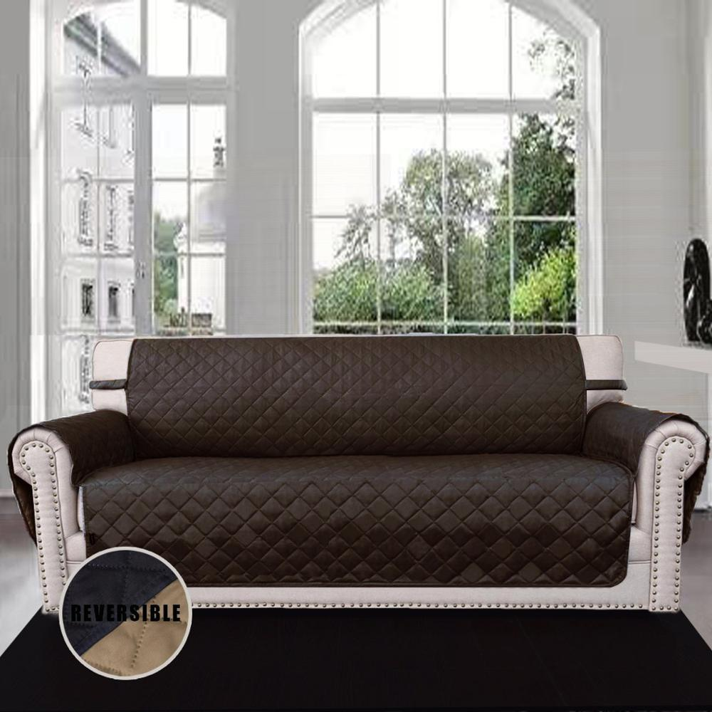 Elegant 100 Polyester Micro Suede Sofa Cover