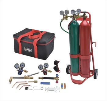 Portable Gas Welding Cutting Kit With Hydraulic Cylinder Lpg Gas Cylinder