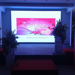 HOT Sale P4 SMD indoor full color led screen / P4 RGB advertising rental led display / P4 indoor led