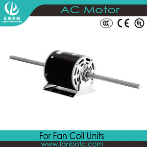 New design 1/15hp single phase capacitor-running six speed fcu motor manufactured in China