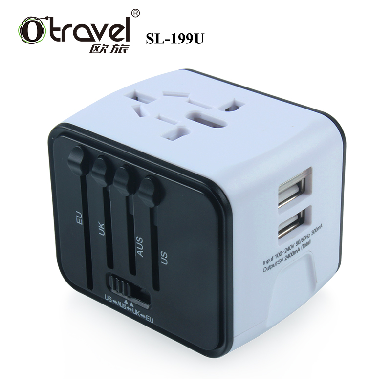 world Popular items dual usb travel adapter for graduation <strong>gifts</strong>