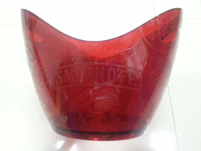 event use party favor plastic bucket for beer cooler
