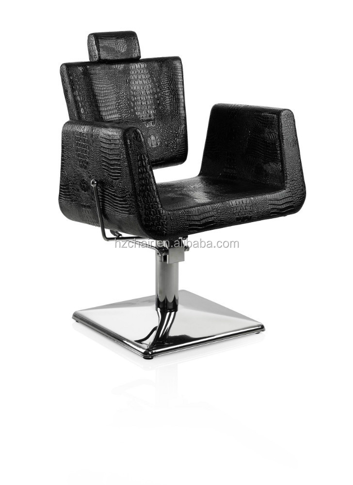 elegant reclining hydraulic styling chair with adjustable gas pole