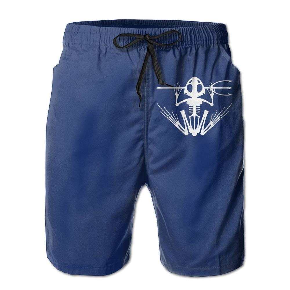 9c21c0af27 Get Quotations · KDSTEVEN US Navy Logo Men's Casual Shorts Swim Trunks Fit  Performance US Navy Board Shorts
