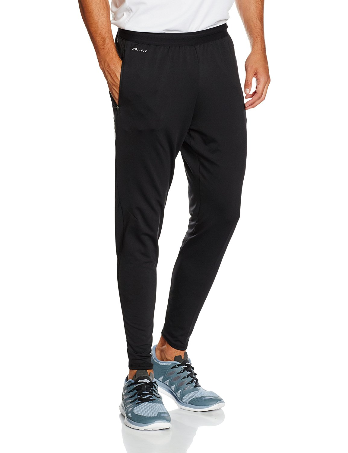 a6186f563393 Get Quotations · Nike Strike Elite Black Mens Football Pants Trousers