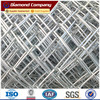 hot galvanzied PVC coated diamond iron wire mesh shape chain link fence fabric
