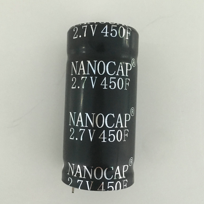Cylindrical type Super Capacitor Factory 2.7V 450F for free samples