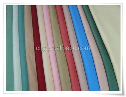 "t/c dyed fabric 80/20 45*45 110/76 43/44"" preshrunk screen printing printed dye dying dyeing singeing water proof anti pilling c"