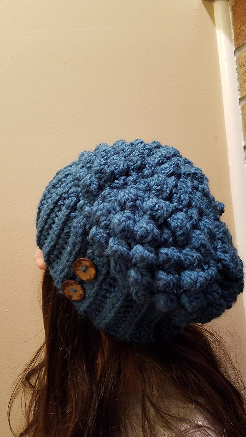 f97e5b9a073 Get Quotations · Crochet fantasy Slouchy beanie