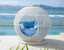 Outdoor Round Sunbed Daybed outdoor daybed sofa furniture