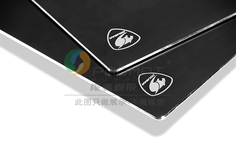 Aluminium Alloy Mouse Pad Custom Logo with Anti-slip Rubber Base Aluminium Mouse Pad