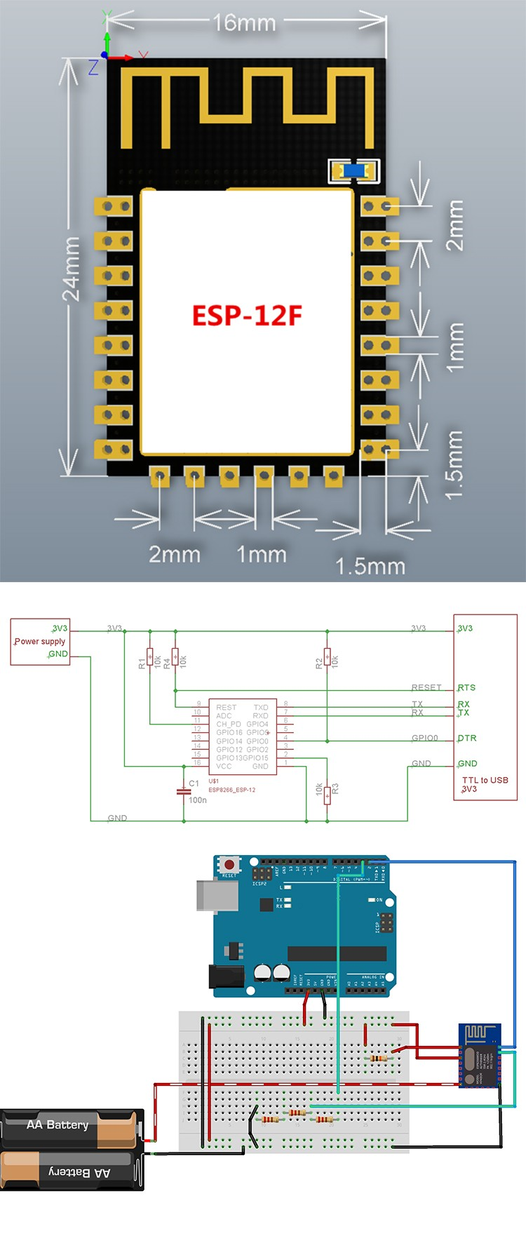 wifi chip price esp8266