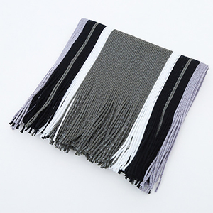 New product hot selling fashion modern knitting scarf acrylic men's scarf
