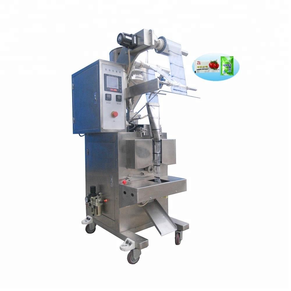 2017 New machine grade automatic washing powder packing machine for sandwich bread toast plate