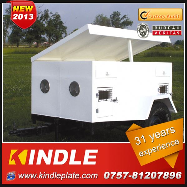 Kindle Professional heavy duty roof top tent trailer