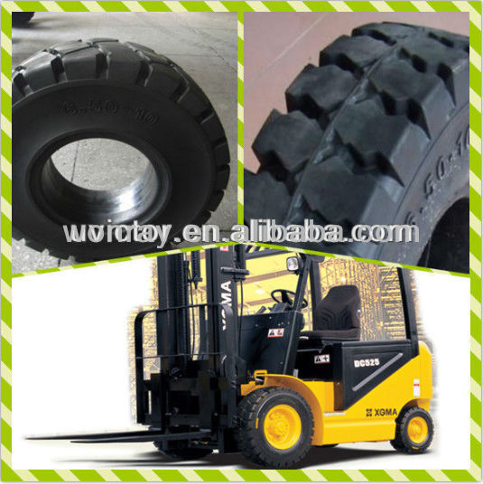 Chinese cheap 7.00-9 solid forklift tire for sale, tcm tires forklifts in many areas