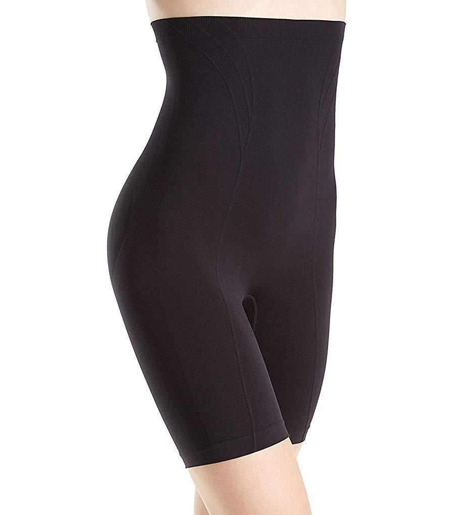 Body Wrap Retro Lites High Waist Long Leg Shaping Panty (6101642)