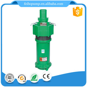 Zhejiang Wenling 1 hp 10 stage submersible irrigation electric water pump 12v