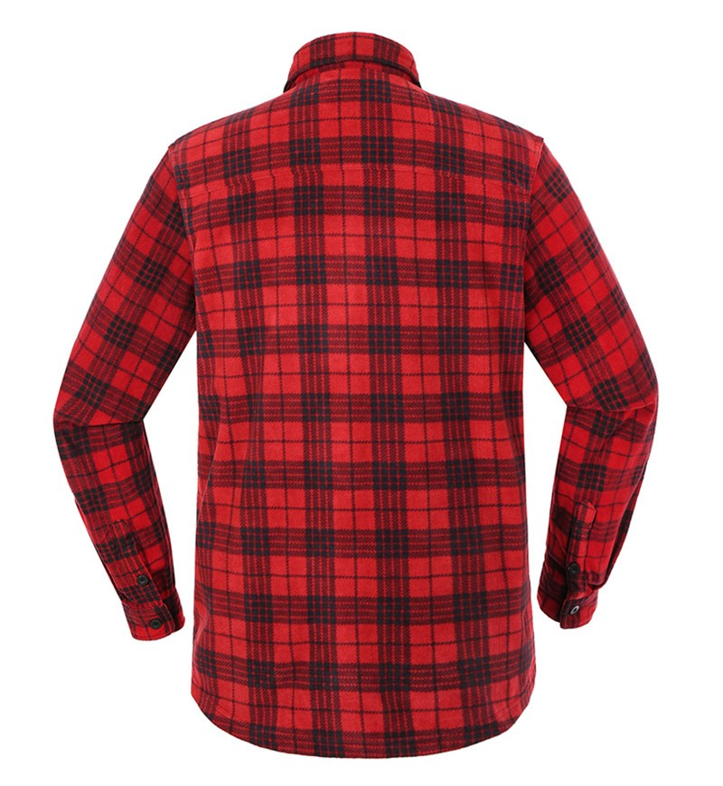 Casual Polar Fleece Shirt,polar fleece plaid shirt ,lightweight fleece shirt
