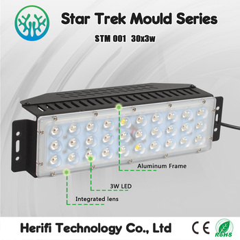 Professional manufacture mould design 90w LED grow light LED grow lights hydroponic systems home garden grow light